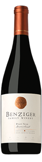 Benziger Family Winery Pinot Noir Sonoma Coast 2013 750ml